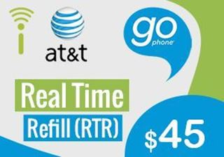 at&t go phone $45 00 - RTR