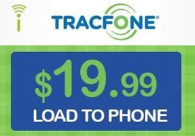 Picture of TracFone $19.99 - Load To Phone