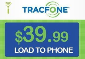 Picture of TracFone $39.99 - Load To Phone